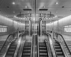 Duplicate (henny vogelaar) Tags: germany köln ubahn station architecture nordsüdstadtbahn kartäuserhof reflection