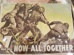 """WWII WAR BONDS POSTER.  $265. • <a style=""""font-size:0.8em;"""" href=""""http://www.flickr.com/photos/51721355@N02/24758301517/"""" target=""""_blank"""">View on Flickr</a>"""