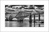 The Forth (SK Monos) Tags: blackwhite monochrome architecture bridge scotland queensferry firth forth edinburgh cantilever