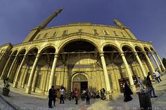 One side of Muhammad Ali mosque exterior (T Ξ Ξ J Ξ) Tags: egypt cairo fujifilm xt2 teeje samyang8mmf28 citadel old town salahaldin medieval mokattam muhammadali unesco