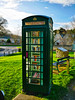 Worlds smallest Library (possibly) (awphoto3) Tags: phonebox library dorset callbox explore repurposed englishtelephonebox green old