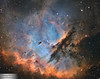 NGC281 (The Pacman nebula) (Sara Wager (www.swagastro.com)) Tags: telescope space universe astronomy astronomia science nebula