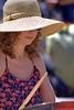 She Drums (Scott 97006) Tags: woman musician drummer female lady hat sticks bang bokeh