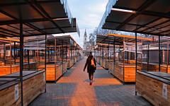 empty market (poludziber1) Tags: street streetphotography skyline sky serbia srbija people colorful cityscape color city colorfull capital church clouds orange belgrado beograd belgrade market