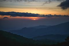 dawn (Flutechill) Tags: nature sunset mountain landscape scenics sky outdoors sunrisedawn dawn dusk cloudsky hill morning beautyinnature sun mountainrange sunlight mountainpeak cloudscape chiangmai thailand doiinthanonnationalpark doiinthanon