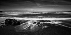 Black Sand Beach [EXPLORED #8] (Travis Rhoads) Tags: 2017 sonyilce7rm2a7rii zeissbatis18mmf28 gitzogt2830basaltseries2 ba72l rrspcl01 reallyrightstuff leefoundationkit leebigstopper10stopnd blackwhite coastal beach blacksandbeach coastline landscapephotography longexposure monochrome nikcollectionbygoogle ocean waves copyright2017 travisrhoadsphotography water california sonomacounty blackpointbeach