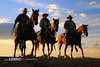 Cowboys (Lerro Photography) Tags: cowboy cowboys horse horses rancher ranchers cattle drive dusk sunset contrast