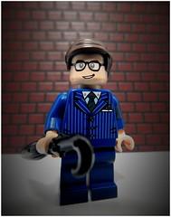 Eggsy (LegoKlyph) Tags: lego custom mini figure brick block movie kingsmen quote secret service kingsman colin firth taron egerton samuel l jackson