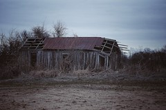 delta of disrepair (haint_blue) Tags: clouds sky southern south decay barn shed rural msdelta delta tallahatchiecountyms tutwilerms mississippi canon