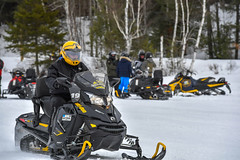 Governor Cuomo Takes Snowmobile Tour Through the North Country's Buck Pond Campground (governorandrewcuomo) Tags: jobs economy tourism iloveny ilovenewyork gabriels ny usa