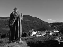 Llangranog (darren martin) Tags: llangranog crannog statue wales coast ceredigion bay sea