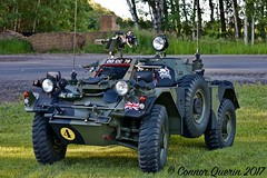 Time to key the ignition :D (Connor Querin) Tags: ferret armoured car vehicle 4x4 british army recce restoration mvpa