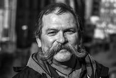 100 Strangers 46/100 (Dov Rob) Tags: glasgow portrait necropolis 100strangers blackandwhite monotone monochrome