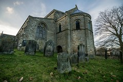 St Mary's Lastingham (cmotley01) Tags: norman church northyorkmoors north york moors churches stmaryslastingham stmary lastingham nationalpark tokina nikon uwa 1116mm 11mm exterior