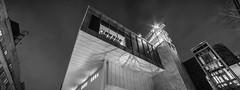 Whitney Museum of American Art (dansshots) Tags: nyc dansshots newyorkcity newyorkatnight nikon nikond750 rokinon rokinon14mm modern modernarchitecture architecture architectureofnewyorkcity bnw blackandwhite blackandwhitephotography blackandwhitephoto