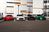 Out Of Place (Hunter J. G. Frim Photography) Tags: supercar colorado nissan gtr japanese r35 skyline white black green awd v6 turbo wing carbon nissangtr ferrari 430 scuderia 16m spider convertible rosso corsa red limited edition italian v8 f430 ferrari430scuderia16m ferrari16m