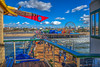 The Pier, Santa Monica (Michael F. Nyiri) Tags: santamonica santamonicapier ferriswheel sky southerncalifornia california colorful beach ocean