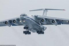 IL-76 (PavelBezrukov1) Tags: spotting aircraft air airplane airfield field plane lines jet takeoff landing beautiful