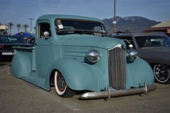 Mooneyes X-Mas Party 2017 (USautos98) Tags: 1937 chevrolet chevy pickuptruck hotrod streetrod custom rockabilly