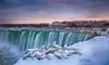 Horseshoe Falls (lfeng1014) Tags: horseshoefalls sunset winter winterwonderland waterfalls niagarafalls ontario canada canon5dmarkiii 2470mmf28lii landscape lifeng panorama