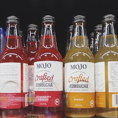 Recent drinks of the day #kombucha #drinks