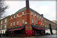 Bree Louise`Pub`Closed Down (roll the dice) Tags: london sad mad vanished demolished camden rail euston publichouse pub boozer beer ale drinking corner uk art classic urban england old local history bygone retro bar chimney sign nw1 windows karendouglas birmingham railway expensive architecture cider awards camra surreal speed lunch bench bollards somerstown