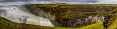 Gullfoss No. 2 - Iceland (dejott1708) Tags: gullfoss waterfall panorama landscape iceland ísland water spray