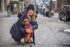 B1002465 (sswee38823) Tags: dog littledog dachshund winter girl woman youngwoman hat face portrait coat street streetportrait people pet pets sidewalk boylstonstreet boston bostonma city ma m massachusetts rangefinder cute pose photography photograph photo leica leicam leicacamera 50mm 50 095 f95 leica50mmf95 noctiluxm50mmf095asph noctiluxm109550mmasph noctilux095 noctilux noc leicanoctiluxm50mmf095asph seansweeney seansweeneyphotographer newengland m10 leicam10 leicacameraagleicam10 explored