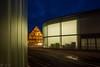 Galerie Stihl bei Nacht (dorisfricke) Tags: badenwürttemberg blauestunde nacht waiblingen galeriestihl remstal fachwerk