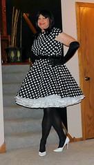 Dot 9 (Deedee Fullskirt) Tags: transvestite petticoat crossdresser highheels