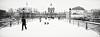 Winter is coming (laurent.dufour.paris) Tags: 2018 29mm bw candid canon darkisbetter eos5dmarkiii europe everybodystreet france froid hiver landscape lovesnoir matin monochrome morning neige noiretblanc noirshots objectifgrandangle parissouslaneige paysage pontdesarts regardsparisiens snow streetphotography winter