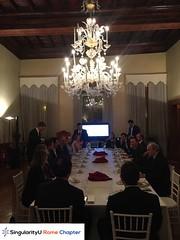 SingularityU Rome Chapter - Dinner (9)