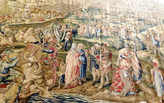 Sevilla Alcázar Wandtepich 2 (Teresa (be there...)) Tags: sevilla alcázar wandteppich spain tapestry