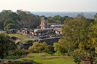 Palenque - global view of the site