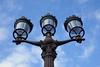 Three lamps - Place de la Concorde (Monceau) Tags: three lamps blue sky placedelaconcorde lights lookingup