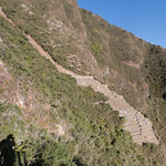 Choquequirao - the llama terraces from the mirador thumbnail