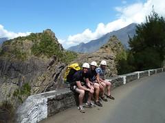 After canyoning, Fleur Jaune, La Réunion
