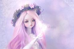 Serene (Mikiyochii) Tags: doll bjd dolls balljointeddoll peakswoods ladybee lavender fantasy oscardolleyes pw