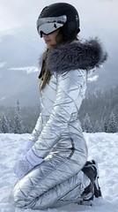 silver (skisuitguy) Tags: skisuit snowsuit ski snow suit skiing skifashion skiwear skioutfit skibunny snowbunny onepieceskisuit onepiecesuit onesie onepiece skidress skianzug