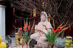 Female Budda (Terry Hassan) Tags: vietnam hanoi onepillarpagoda buddist budda temple offering chuamotcot female goddess dienhuupagoda statue