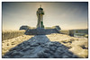 Fairytale castle made of ice (bavare51) Tags: sasnitz leuchtturm mole eis eisbehang winter seezeichen