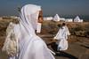 White (SaumalyaGhosh.com) Tags: white color street streetphotography india nuns jain fuji xt2