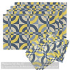 Design Challenge entry: 'Palacio by Su_G' shown in placemats + dinner napkins mockup (Su_G) Tags: yellow sug 2018 spoonflower spoonflowerdesignchallenge spoonflowercontest roostery softfurnishing softfurnishings yellowandgray yellowandbluegray grayandyellow gray bluegray dinnernapkins amareladinnernapkins placemats lamonaclothclothplacemats lamonaclothplacemats lamonaplacemats tablewear geometric spanishtiles tiles granada mosaic tile traditionalspanishtiles palace palacio palaciobysug