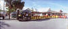 Key West, the conch train (Todron) Tags: kmz kmzhorizont horizont panorama panoramica panoramic camera filmcamera film wide wideangle grandangolo diapositiva slide e6 transparency fuji fujifilm fujichrome provia fujichromeprovia100f keywest florida isolekeys usa conch