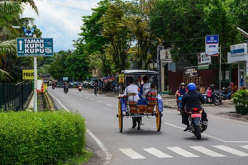 Street of Yogyakarta, Indonesia