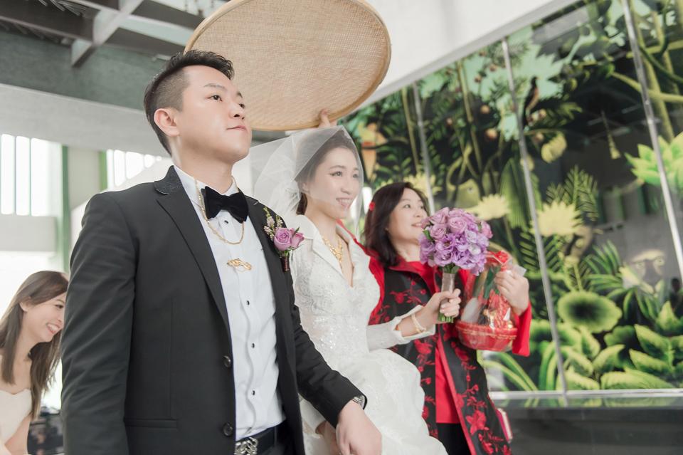 婚攝 高雄林皇宮 婚宴 時尚氣質新娘現身 S & R 084