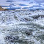 Iceland ~ Landmannalaugar Route ~  Ultramarathon Hike is held on the route each July ~ Rapids thumbnail