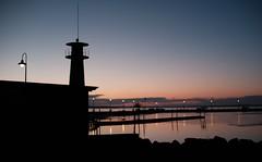 quiet evening at the boat locks (humbletree) Tags: sunset madison wisconsin xe2 lakemendota tenneyparklocks
