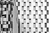 three lamps behind the windows (christikren) Tags: austria architecture blackwhite christikren facade geometry sw vienna windows lamp panasonic lines