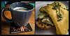Definitely maybe (Melissa Maples) Tags: istanbul turkey türkiye asia 土耳其 apple iphone iphone6 cameraphone kadıköy kalamış multipanel diptych café restaurant maybe toast avocado omelette coffee breakfast food goatcheese